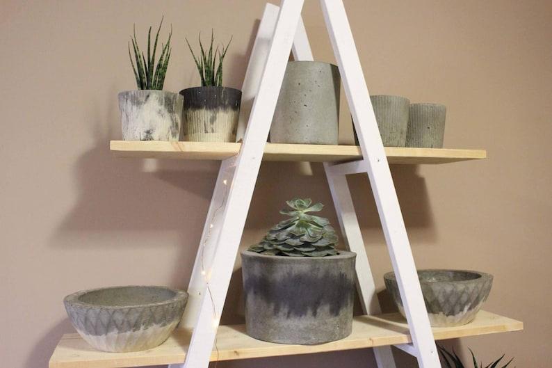 Concrete Chimney Planter