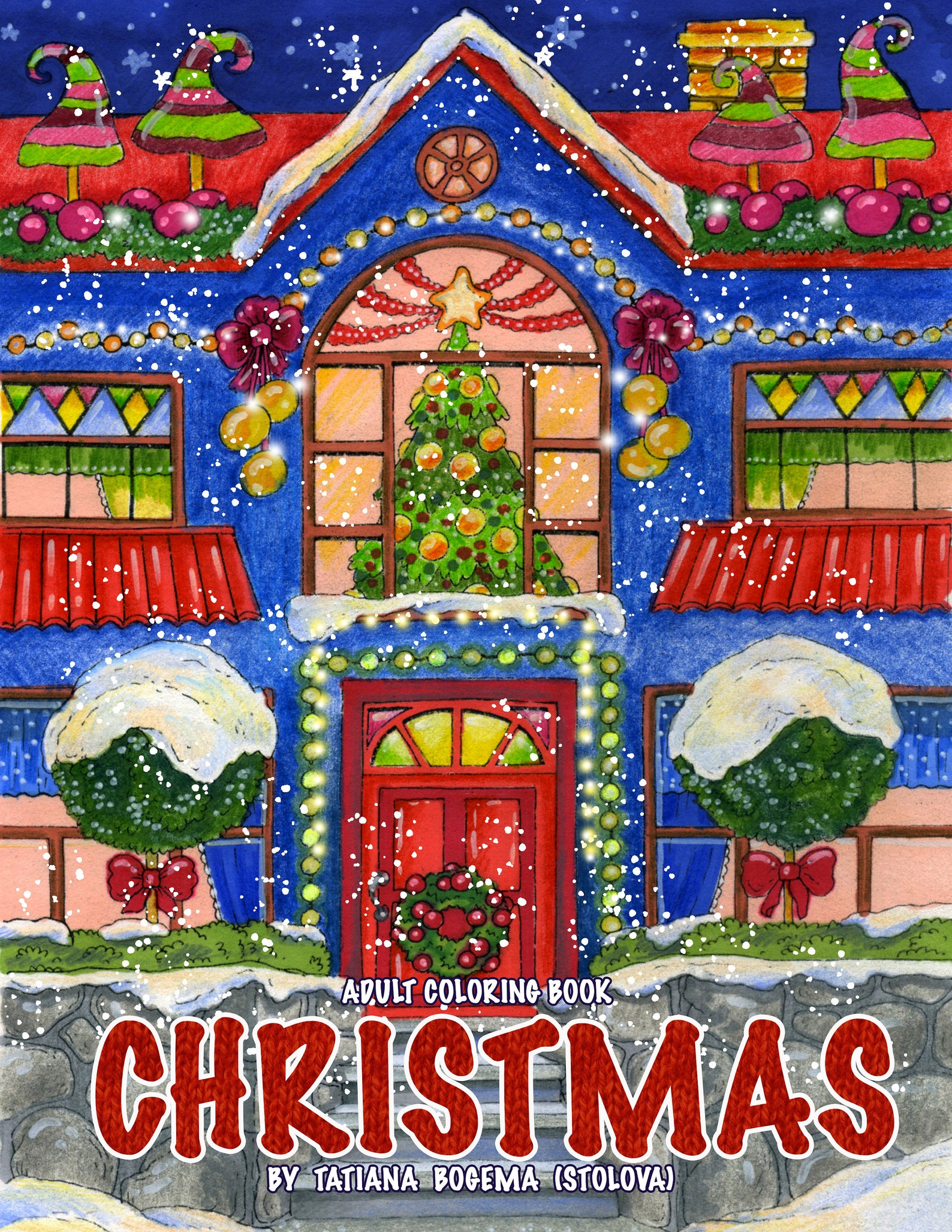 Christmas Coloring book by Tatiana Bogema