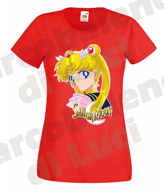 T Sailor Maniche CorteEtsy Bunny Shirt Moon Maglietta Donna rBoEdCQxeW