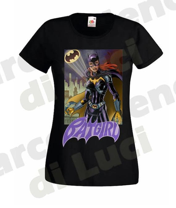 Batgirl Bombshell Adult Crewneck Sweatshirt