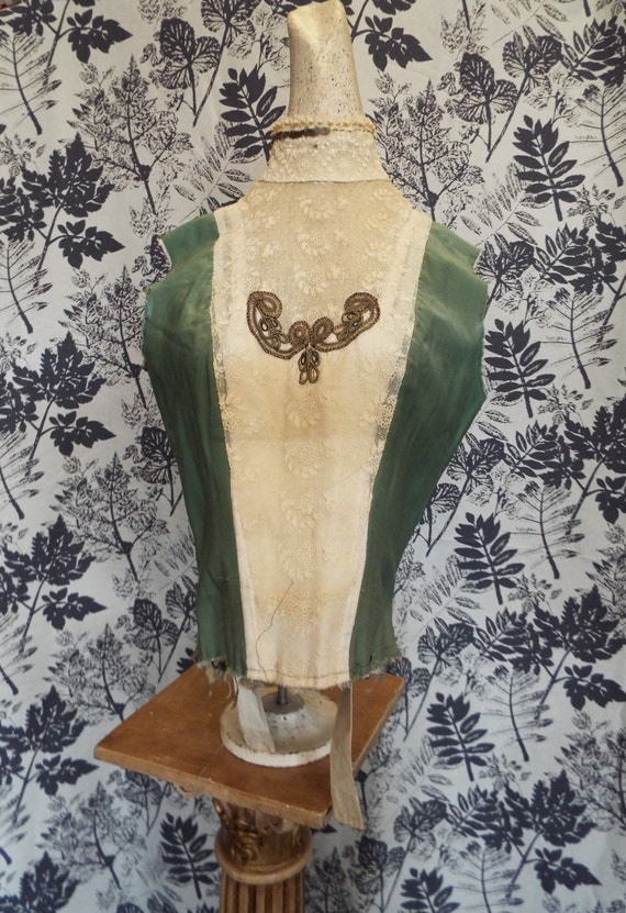 Antique Edwardian Bodice~Early 1900s Bodice for St