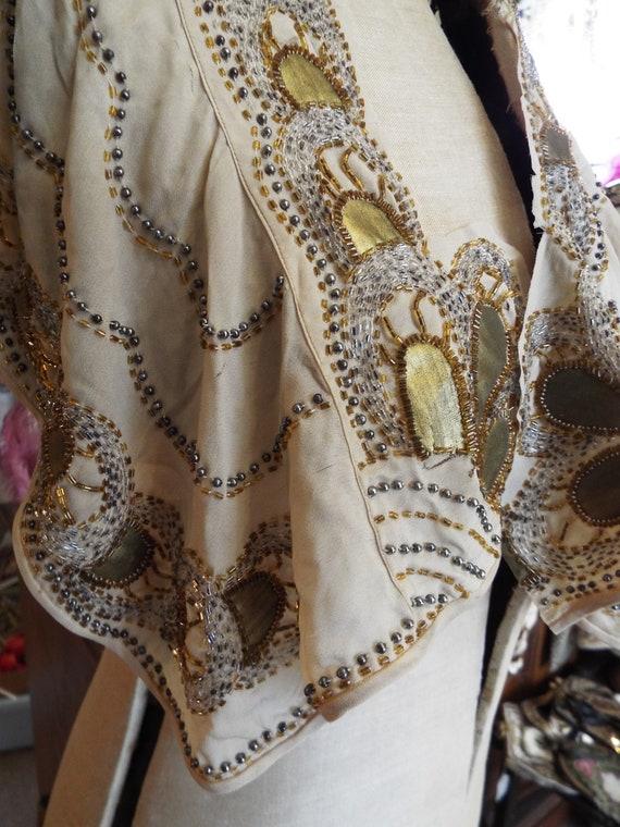 Vestige de robe vintage années des années vintage 1920 ~ perlage panneau-Antique Textiles ~ robe garçonne des années 1920 856c51