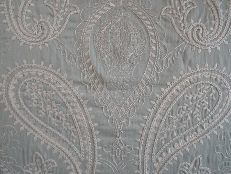 Manuel Canovas Elisa Embroidered Cotton~Manuel Canovas Embroidered Paisley