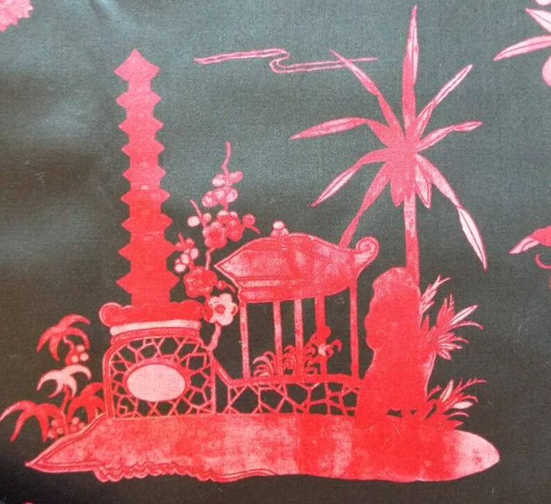 Schumacher Coromandel Chinoiserie Fabric~Alessandra Branca for Schumacher~Schumacher Chinoiserie Upholstery Fabric