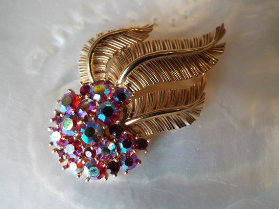 Vintage 1950s Trifari Brooch~1950s Crown Trifari B