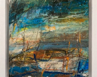 Boat at Sea (sketch) Available through M1 Fine Art