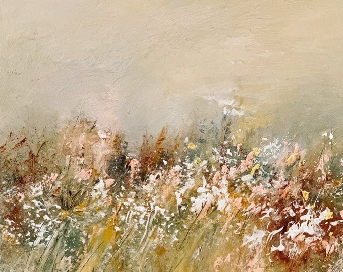 Wildflowers in a Suffolk Field SOLD