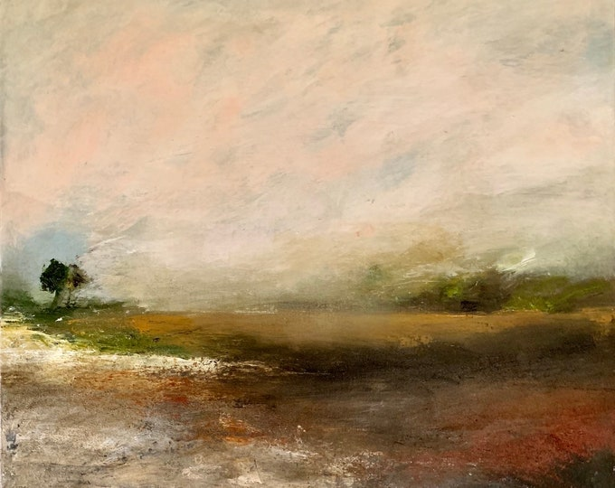 Harvest Shortlisted for Lynn Stainer Painter Prize 2019.  Available at The Gallery Snape Maltings