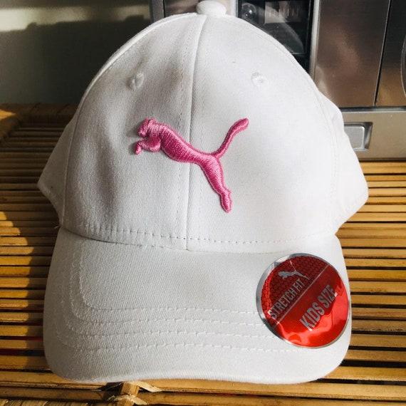Kids Pink Puma Stitch Cap