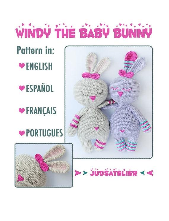 Conejito patrón crochet amigurumi animales patron conejo | Etsy