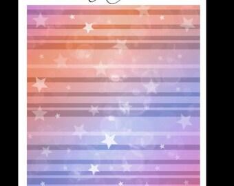 Mutlicolor star headers - EC vertical