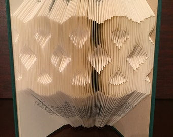 Celtic Knot - Folded Book Art - Irish - Irish Gifts - Trinity Knot - Unique Gifts - St. Patrick's Day