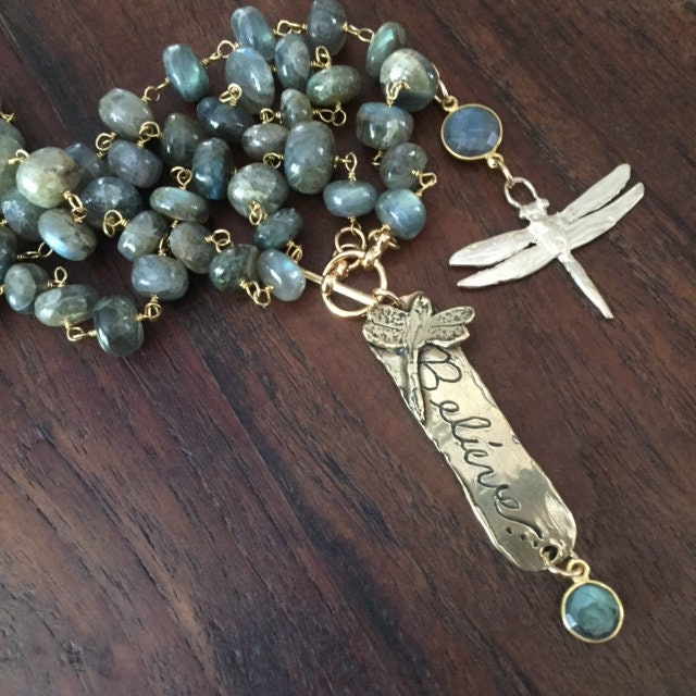 Dragonflies The Symbol Of Change The Enormous Labradorite Rosary
