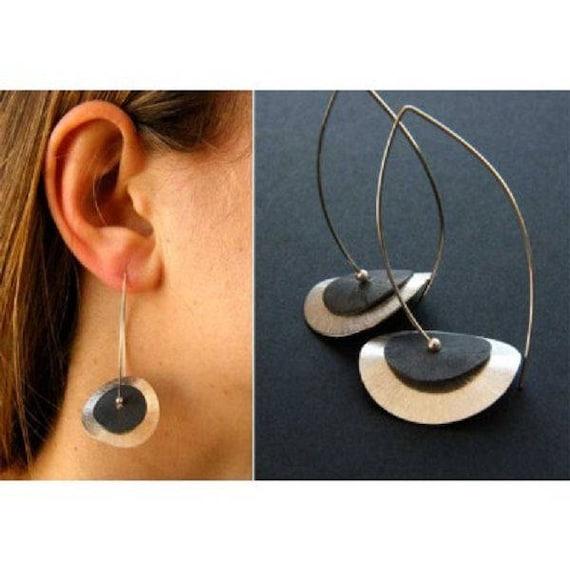 Magische BERNSTEIN Mondschwester Ohrringe magic mexican AMBAR moonsister earrings