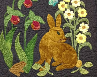 Woodland creatures collector quilt patterns by rosemary makhan etsy