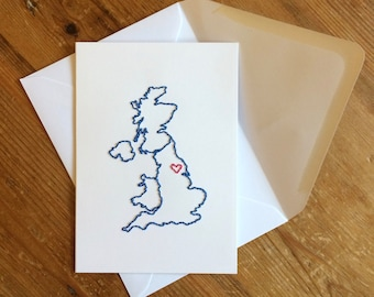 Left  my heart in Yorkshire Card