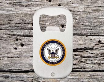 Navy Bottle Opener - Navy Gift Idea - Navy Retirement Party - Navy Retirement Bottle Opener - US Navy Gift - Military Gift - Military Retire