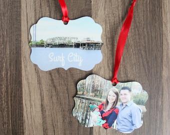 Photo Ornament - Family Ornament - Christmas Ornament - Personalized Picture Ornament - Picture Ornament -Personalized Ornament - Keepsake
