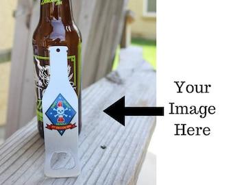 Personalized Beer Bottle Opener - Beer Lover Gift Logo Bottle Opener - Promotional Product - Personalized Wedding Gift