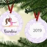Gymnast Ornament - Gymnastics Ornament - Gymnast Christmas Ornament - Ornament For Little Girl - Children's Ornament - Gift For Little Girl