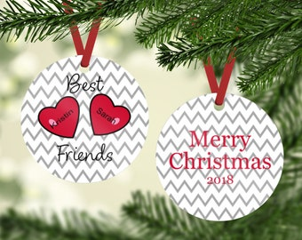 Best friend ornament | Etsy