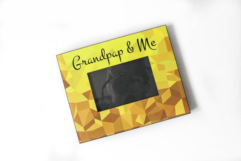 Father/'s Day Gift Idea New Baby Gift Gift for Grandpap Baby Picture Frame Grandchild Picture Frame Grandpap and Me Frame