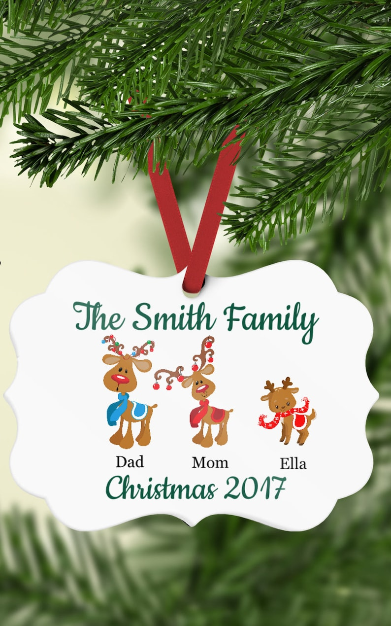 Family Ornament  Personalized Ornament  Family Christmas image 0