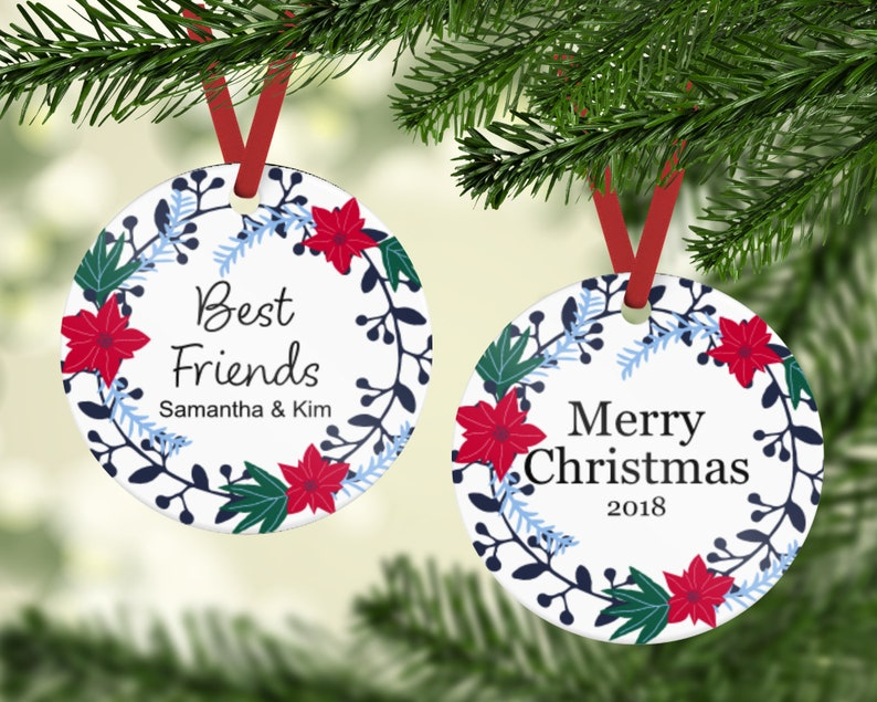Best Friends Ornament  Friends Ornament  Gift For Friend  image 0