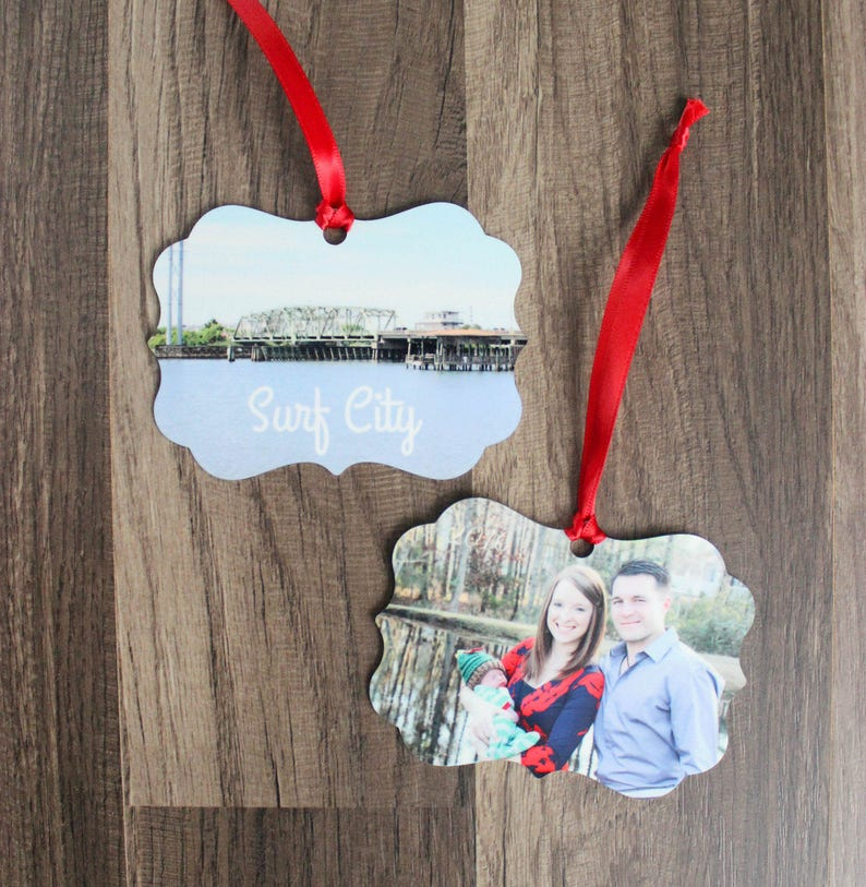 Photo Ornament  Family Ornament  Christmas Ornament  image 0