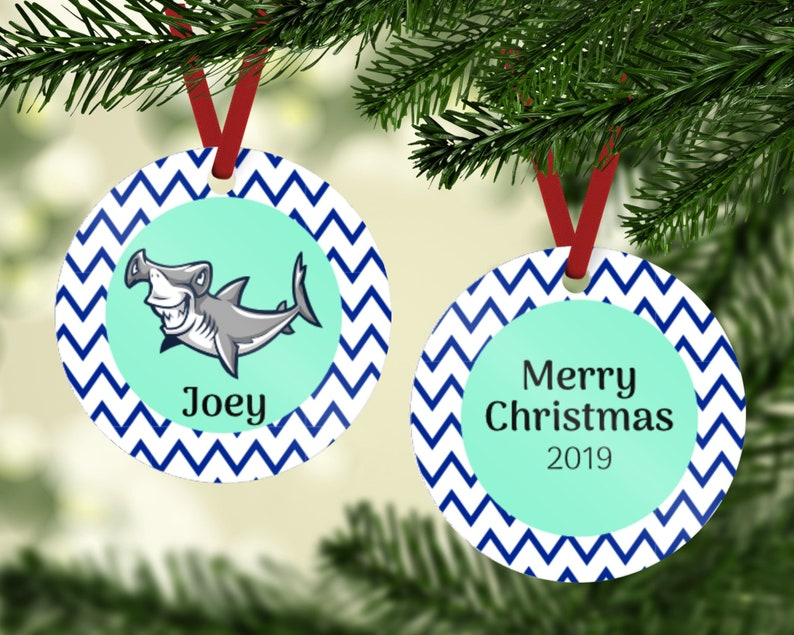 Hammerhead Shark Ornament  Shark Ornament  Shark Lover image 0