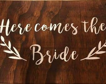 Ring Bearer Wedding Sign