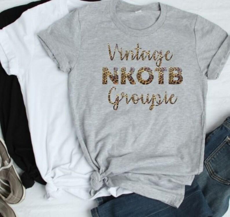 cd87e8b1cee33 I Still Love NKOTB Glitter Shirt Vintage NKOTB Groupie