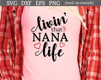 Download Nana life svg | Etsy