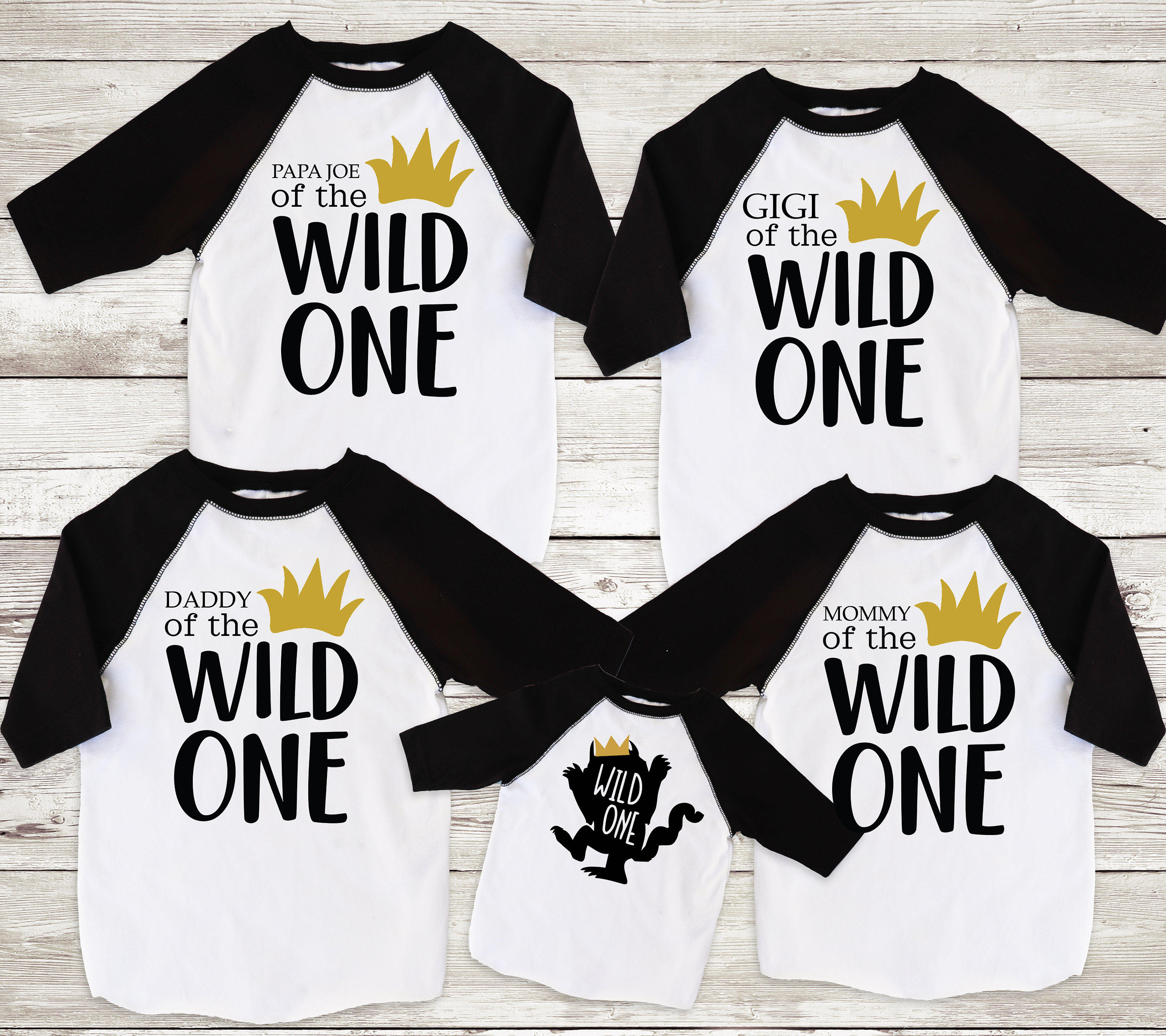 c5a3a33a Family Wild One Shirts Mom of the Wild One Dad of the Wild | Etsy