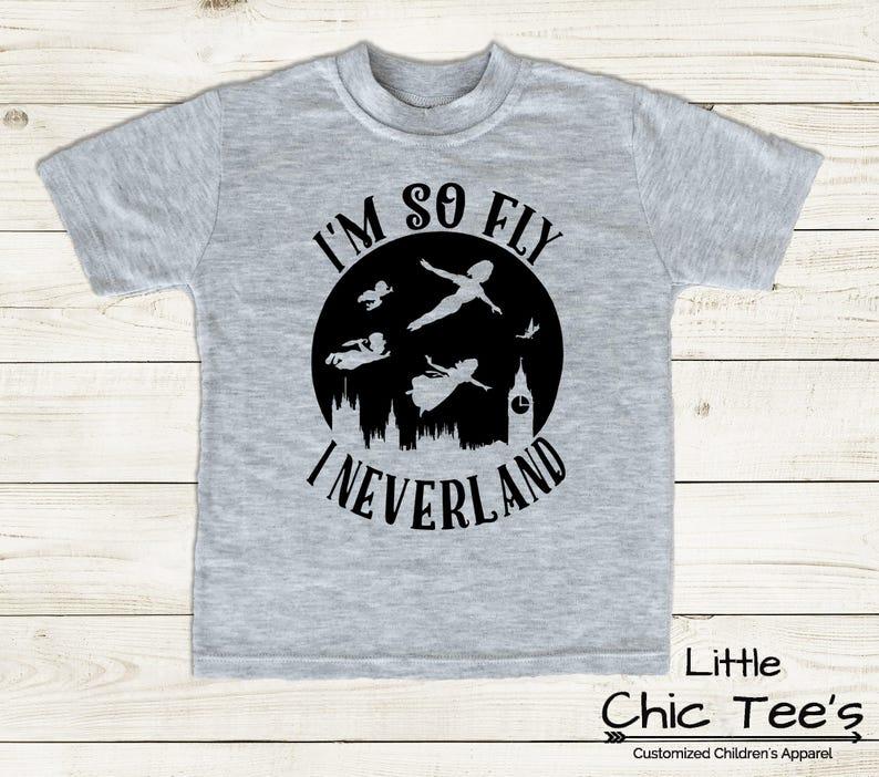 53dd783bd Peter Pan I'm So Fly Toddler Shirt Cute Boy Clothes   Etsy
