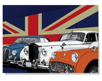 British Classic Cars Card