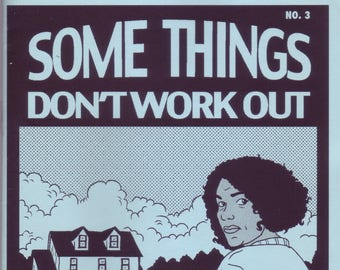 Some Things Don't Work Out #3 Comic Zine