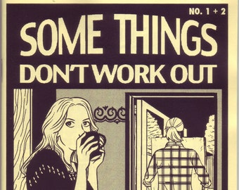 Some Things Don't Work Out #1+2 Comic Zine