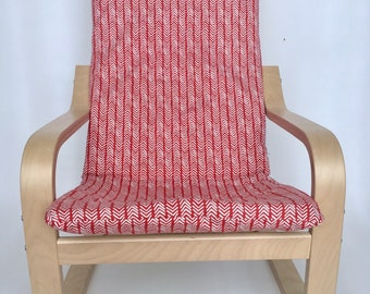 Poang Chair Cover Child Etsy