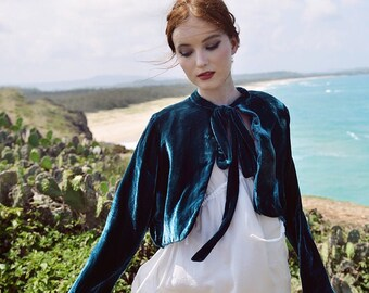 Cardigan Women - Velvet Jackets for Women - Long Sleeve - Summer Cardigan