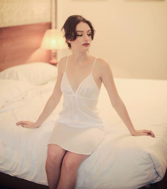 4dbec2f342 Lelasilk Babydoll Silk Dress  100% Natural Silk  Sleepwear