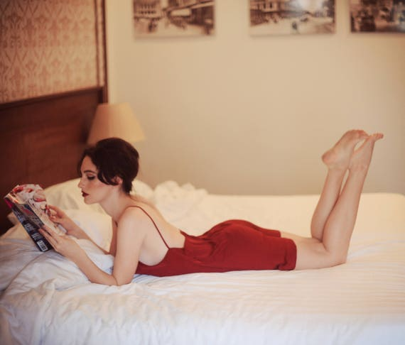 cac6174636 Sexyback  backless silk slip dress silk sleepwear  bridal