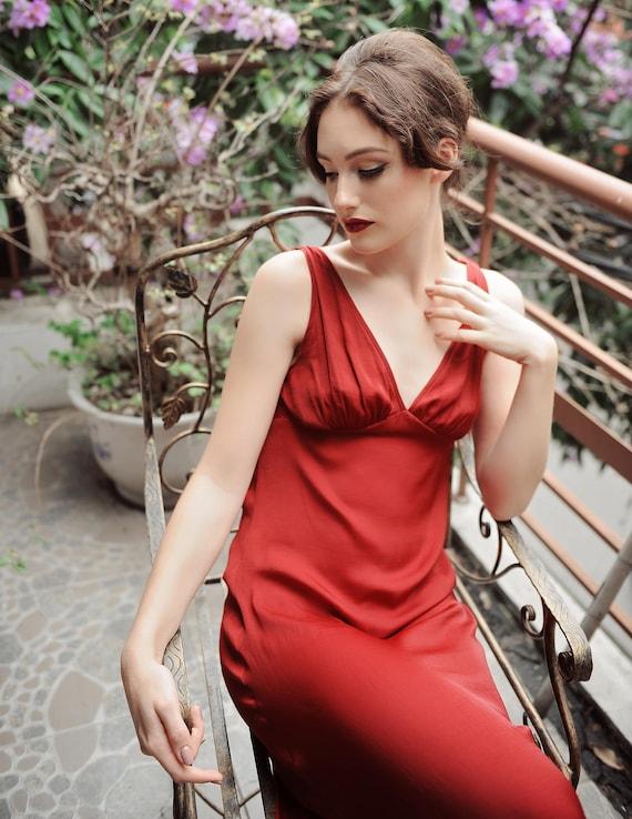 c04cd3e076 LelaSilk Bridesmaids Dress  Night Gown Bridesmaids  Silk