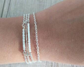 Bracelet 1 seed beads