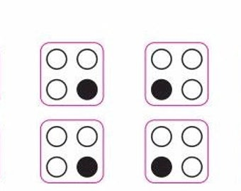 4 ring cooker top markings decals -  double set. Please note Post to the USA can take from 2 to 6 weeks.