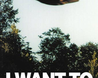 Poster The X-Files - I Want To Believe Iconic Fox Mulder  Poster Maxi   Size