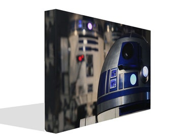 Star Wars R2 D2 Droid Canvas Art Print or  Picture Photo Poster
