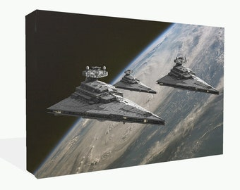 Star Wars Star Destroyers Canvas Print Wall Art Ready to Hang or Photo Poster Print
