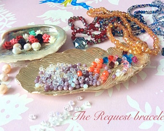Bespoke handmade healing bracelet - Special request spiritual bracelet