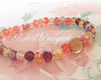 Dragon beaded bracelet
